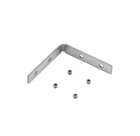 Kit Conexão Teto-Parede p/ Perfil Archi Alumínio | Stella STH20978