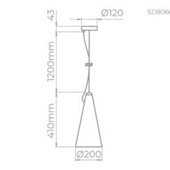 SD8060 Block Preto DETALHES