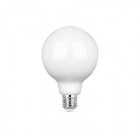 Lâmpada LED G95/Globo E27 Leitosa 320º 3000K Quente 7W Bivolt | Stella STH20216/30
