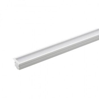 Perfil de Embutir LED Archi Recuado Linear 1 Metro Alto IRC>93 2700K Quente 23W 24V Alumínio Branco | Stella STH20991BR/27