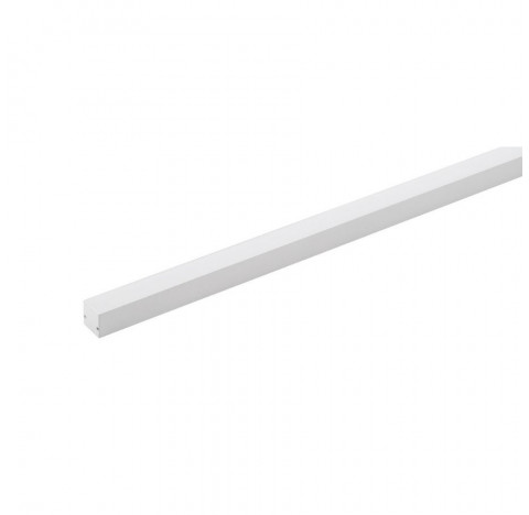 Perfil de Sobrepor LED Archi Linear 1 Metro Alto IRC>93 2700K Quente 11,5W 24V Alumínio Branco | Stella STH20961BR/27