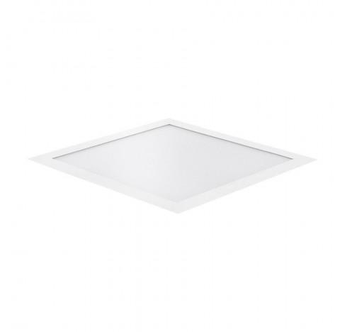 Painel/Luminária de Embutir LED EVO Backlight Quadrado Alto IRC>90 5700K Frio 30W Bivolt 40x40cm Alumínio Branco | Stella STH20957/57