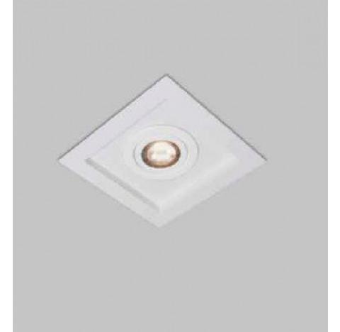 Spot de Embutir Premium Quadrado AR70 17,5x17,5cm Metal - Usina 4302/15