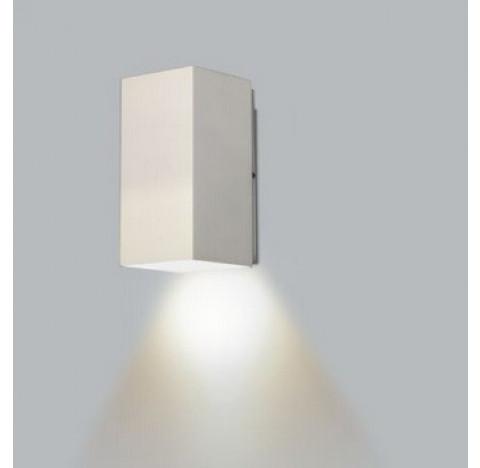 Arandela Occa Retangular Facho Simples Aberto Externo 18x10x9cm Metal - Usina 5240/18