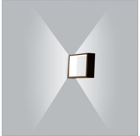 Arandela LED Puch Quadrado Interno 110V 20x5,1x20cm Metal - Usina 5744/20-110