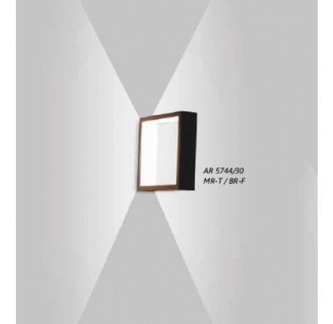 Arandela LED Puch Quadrado Interno 220V 30x5,1x30cm Metal - Usina 5744/30-220