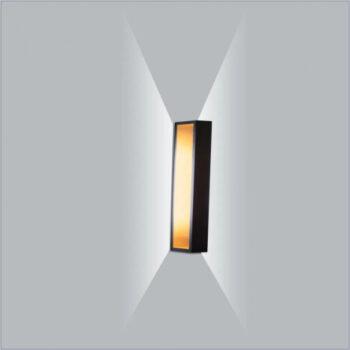 Arandela LED Puch Retangular Interno 220V 15x5,1x5cm Metal - Usina 5745/15-220