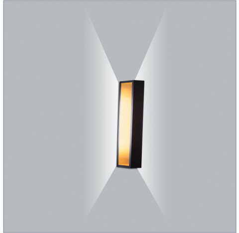 Arandela LED Puch Retangular Interno 110V 70x5,1x10cm Metal - Usina 5745/70-110