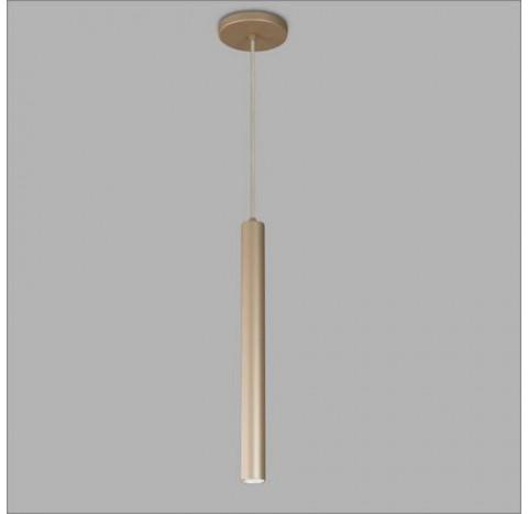 Pendente Ducto Cilíndrico Halopin 18xØ2,2cm Metal - Usina 16258/20