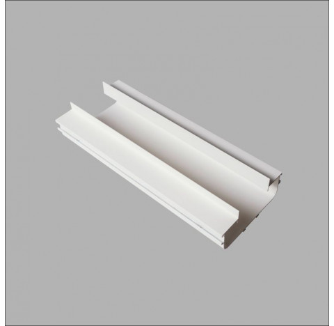 Perfil de Embutir No Frame Infinity Linear 50x12,3cm Metal e Acrílico - Usina 30010/50