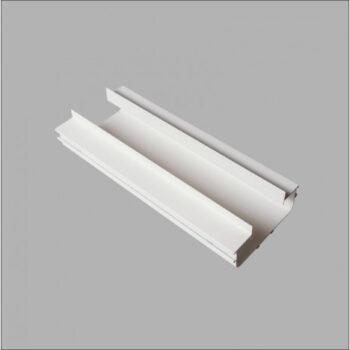 Perfil de Embutir No Frame Infinity Linear 250x12,3cm Metal e Acrílico - Usina 30010/250