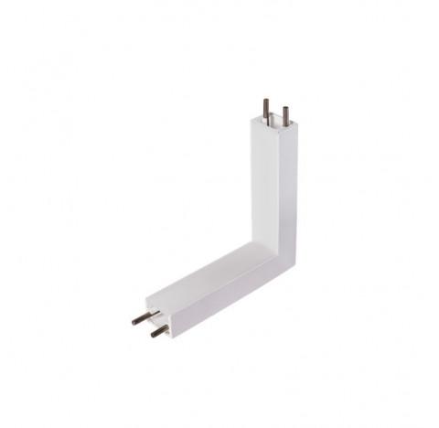 Perfil de Sobrepor Garbo Junção Teto/Parede 10x10cm Metal e Acrílico - Usina 30022/TP