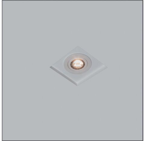 Luminária de Embutir No Frame Quadrado AR111 18x18cm Metal - Usina 30204/17