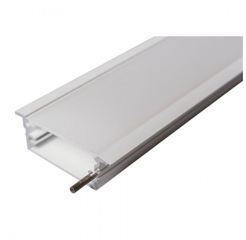 Perfil de Embutir Route Linear 50x6,2cm Metal e Acrílico - Usina 30670/50