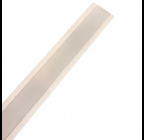 Perfil de Embutir Polo Linear 125x4,5cm Metal e Acrílico - Usina 30695/125