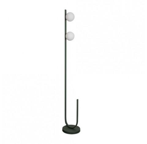 Luminária de Chão/Piso Dama 160xØ24,5cm Metal e Vidro - Usina 16810/2
