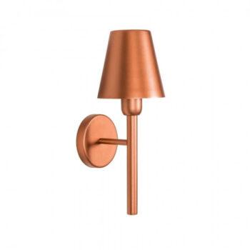 Arandela Duque c/ Cúpula 37,5xØ13,5cm Metal - Usina 5802/1