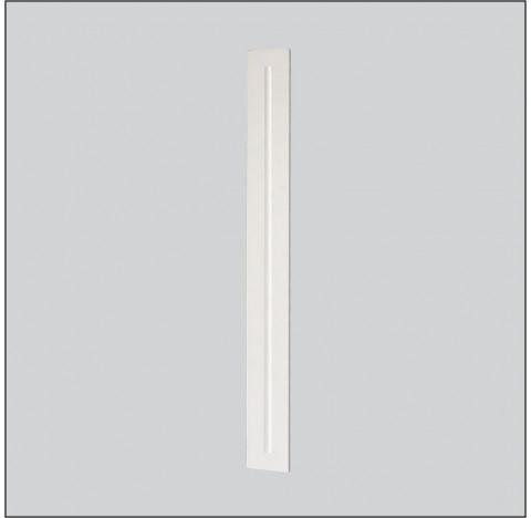 Luminária de Embutir Magnum Retangular 1 Tubular T8 120cm 128x8cm Metal e Acrílico - Usina 3608/125F